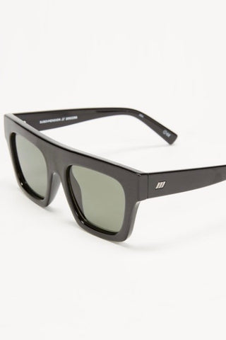 Le Specs Subdimension Sunglasses- Black