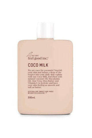 We Are Feel Good Inc. Coco Body Milk Moisturiser- 200ml