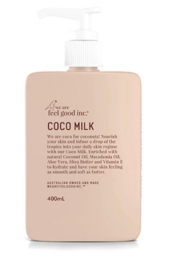 We Are Feel Good Inc. Coco Body Milk Moisturiser- 400ml