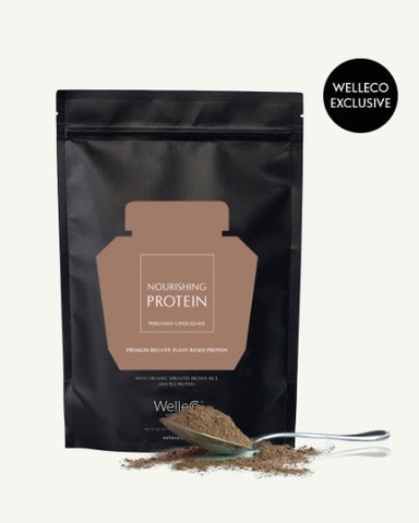 WelleCo Nourishing Protein Chocolate 300g Pouch