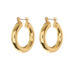 Luv AJ The Baby Amalfi Tube Hoops