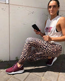 Vie Active Rockell 7/8 Legging- Brown Leopard - HyperLuxe Activewear