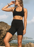 Kavala Collective Bike Short- Onyx - HyperLuxe Activewear
