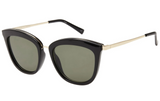 Le Specs Caliente Sunglasses- Black/ Gold - HyperLuxe Activewear
