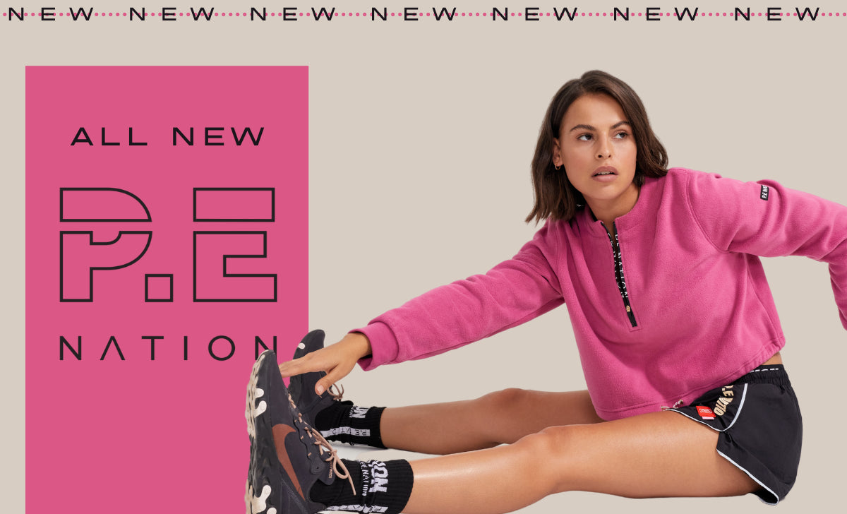 P.E Nation Winter Clothing Australia Online