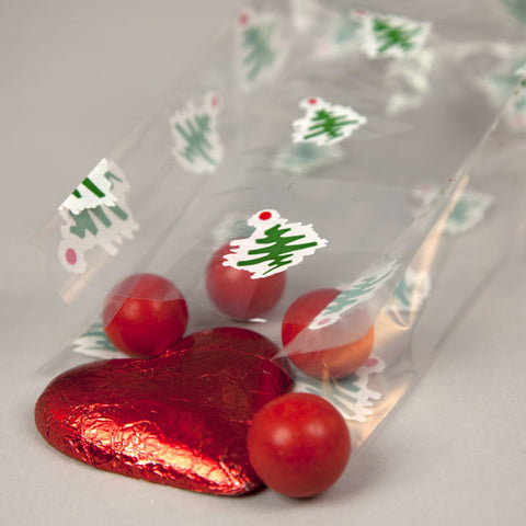 Christmas Tree Cello Bags
