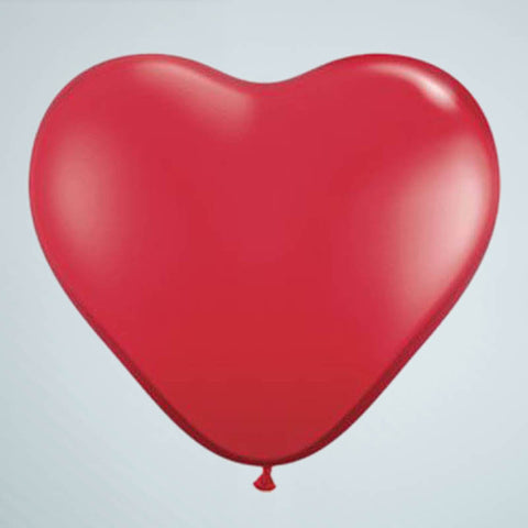 Mini Heart Balloon – Red