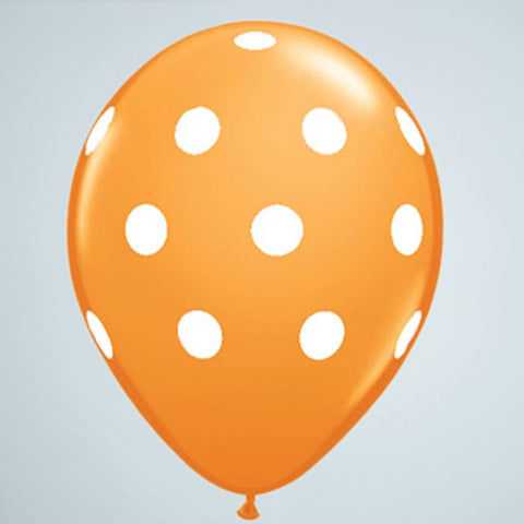 Polka Dot Balloon – Orange