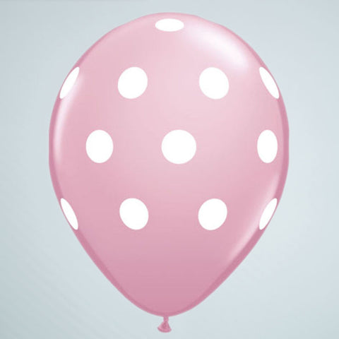 Polka Dot Balloon – Pink