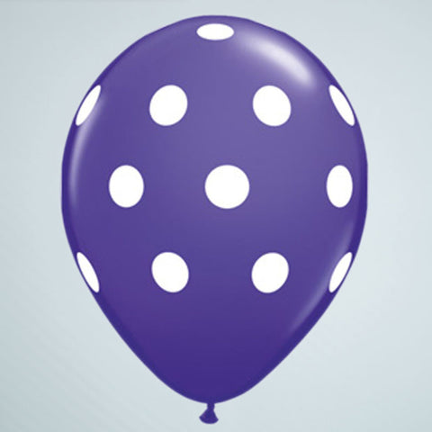 Polka Dot Balloon – Purple