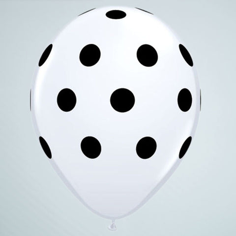Polka Dot Balloon – White & Black