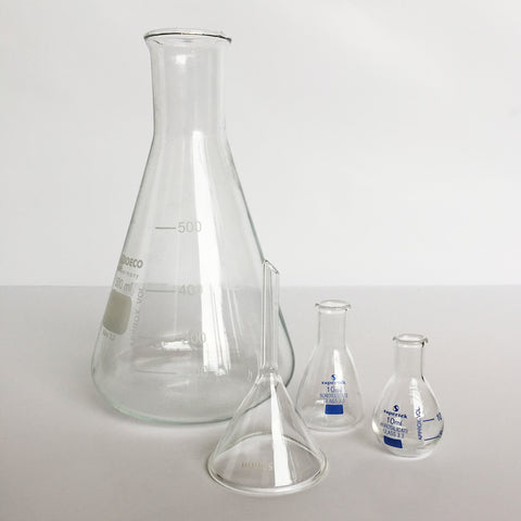 50mm Borosilicate glass funnel