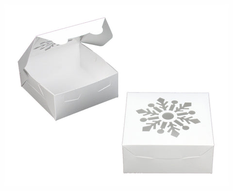White Snowflake Box