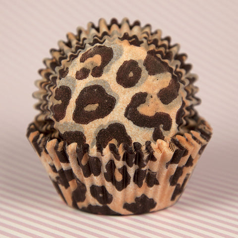Leopard Print Baking Cup