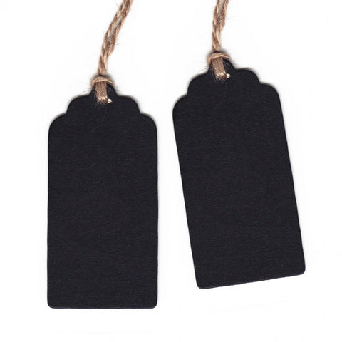 chalkboard gift tags set of ten