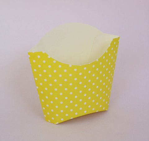 Dotty Fry Boxes - Yellow