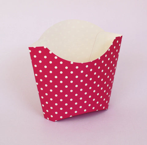 Dotty Fry Boxes - Hot Pink