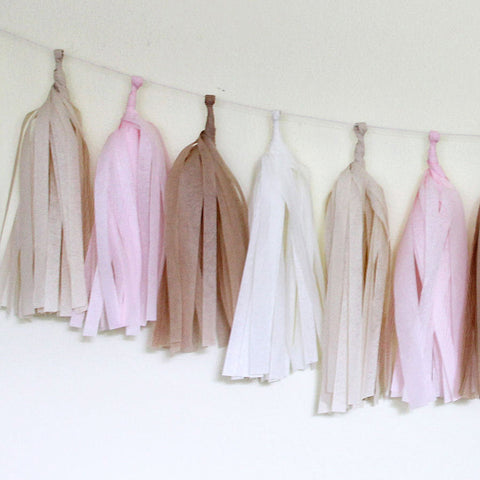 Paper Tassel Garland Kit – Blushing