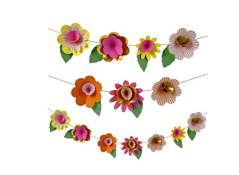 Fancy Flower Garland Kit