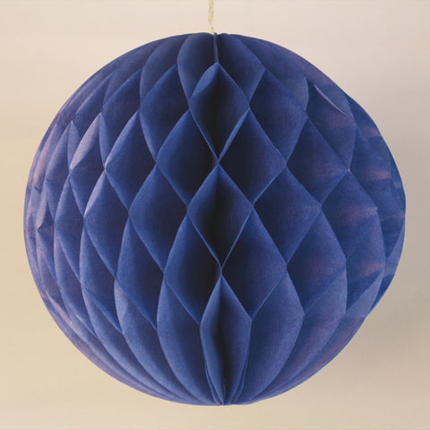 "5"" Mini Navy Honeycomb Ball"