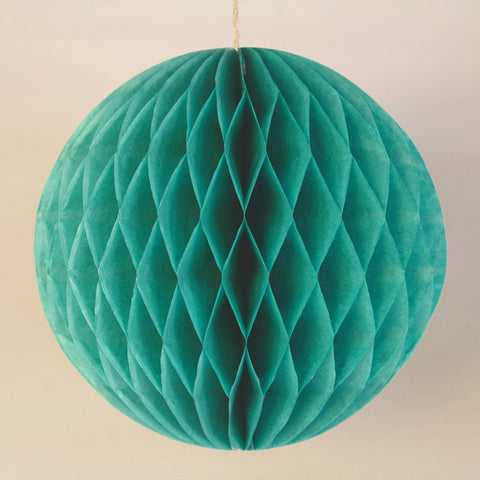 "5"" Mini Teal Honeycomb Ball"