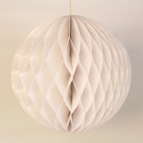 "5"" Mini White Honeycomb Ball"