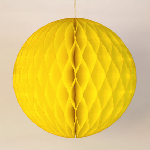 "5"" Mini Yellow Honeycomb Ball"