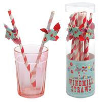 Windmill Straws - Carnival Time