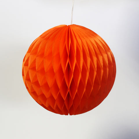 "5"" Mini Orange Honeycomb Ball"