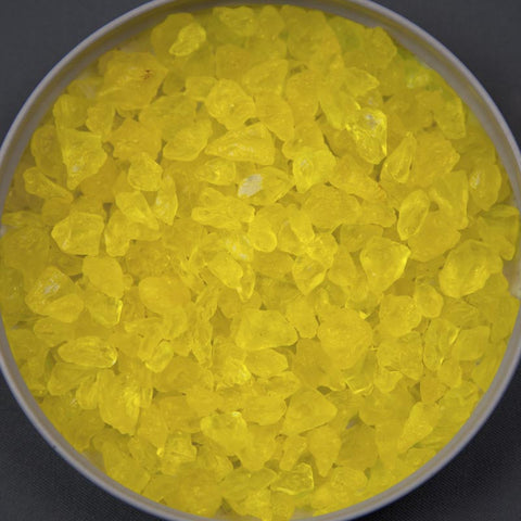 Lemon Yellow Rock Sugar
