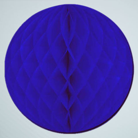 "12"" Navy Honeycomb Ball"