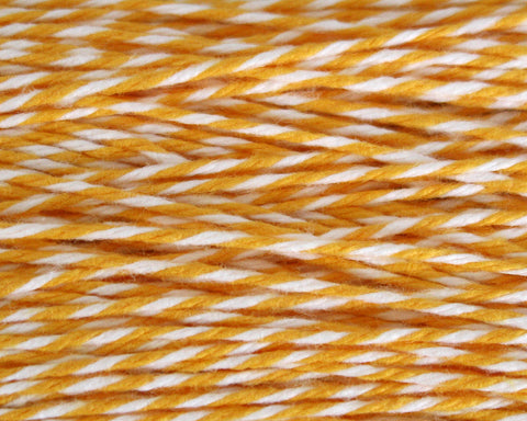 Yellow Stripe Bakers Twine