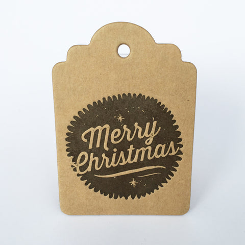 Wood Duck Press – Merry Christmas Tag