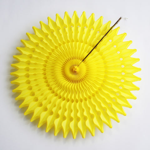 Yellow Tissue Fan