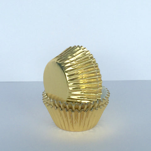 Mini Gold Foil Baking Cases