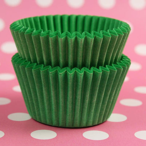 Mini Green Baking Cases