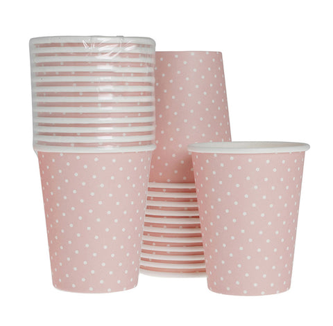 Cups – Sweet Pink Dot