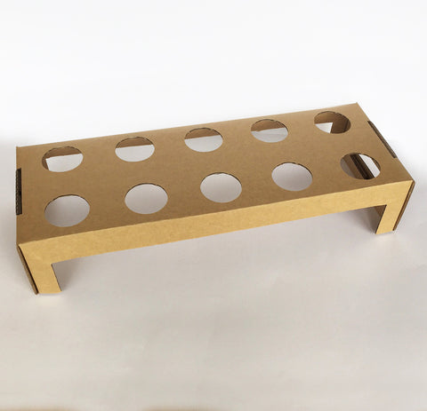 Kraft Cone Holder Tray