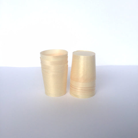 10 x Small Pine Cups