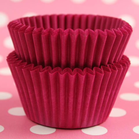 Mini Pink Baking Cases