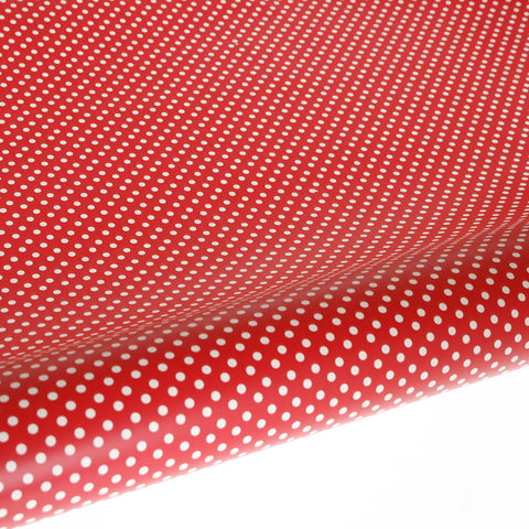 Gift Wrap – Red Polka Dot