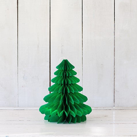 Green Honeycomb Christmas Tree – Small
