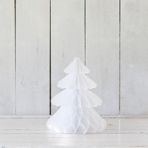 White Honeycomb Christmas Tree – Small
