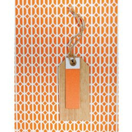 Gift Tag – Habitat Orange