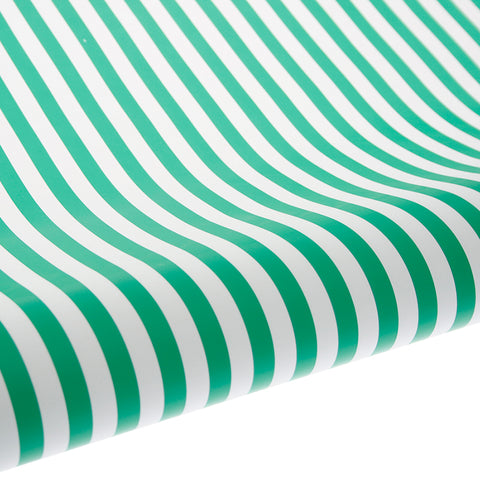Gift Wrap - Green Stripe