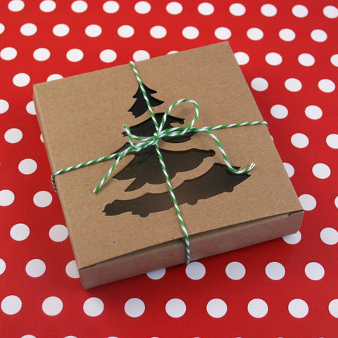 Christmas Tree Cookie Box