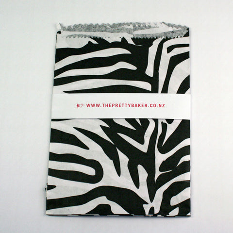 Zebra Print Treat Bags