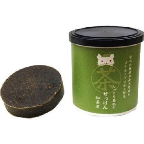 Kamiya Green Tea Soap  Cleansing - Japan Skin