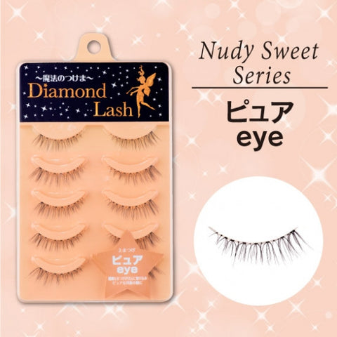 Diamond Lash Nudy Sweet Series, Pure Eye  Eyelash - Japan Skin