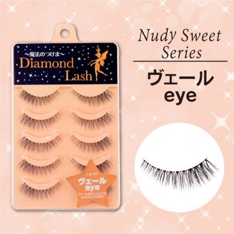 Diamond Lash Nudy Sweet Series, Veil Eye  Eyelash - Japan Skin